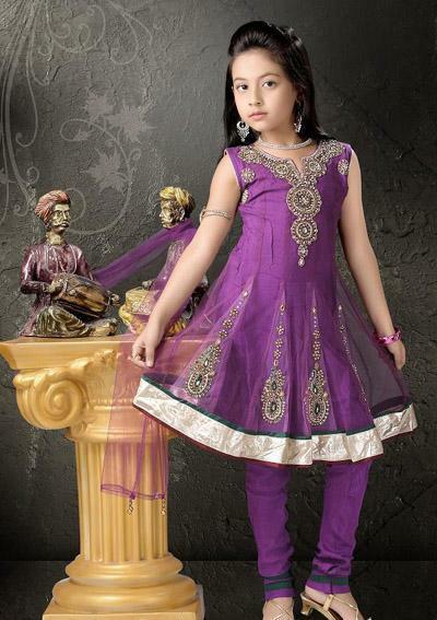 Kids Latest Anarkali Dresses 2013