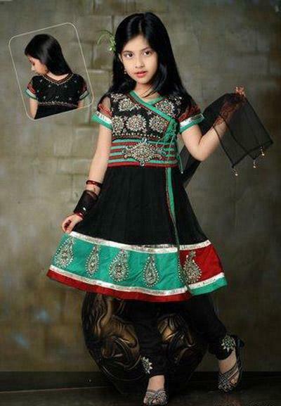 Black-Anarkali-Churidar-Suit