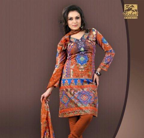 Fancy-summer-kurti-designs-2012