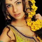 Latest Bridal Mehndi Dresses For Brides 2012