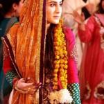 Latest Bridal Mehndi Dresses