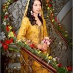 Pakistani Wedding Mehndi Dresses 2012-2013