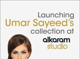 Umar Sayeed Summer Lawn Collection 2012 Solely at Alkaram Studio