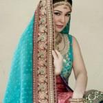 hot bridal dresses by model Ayesha Umer