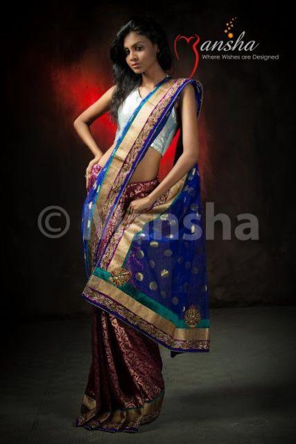 boutique saree design by Bangladeshi boutique