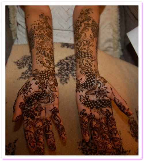 mehndi simple designs for hands