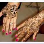 easy arabic mehndi designs for hands