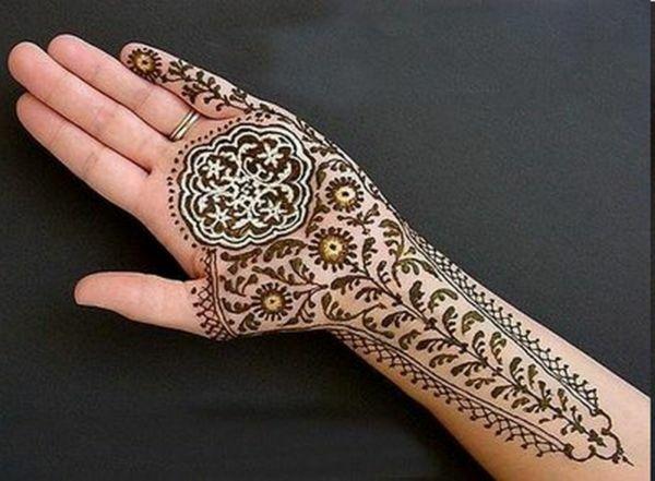Latest Henna Bridal Mehendi Styles 2012-13 For Wedding and Eid