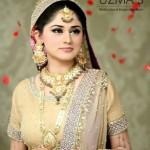 Latest Uzma's Bridal Salon Jewellery & Dresses Makeover Shoot 2013 Collection 02