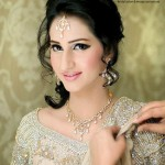 Latest Uzma's Bridal Salon Jewellery & Dresses Makeover Shoot 2013 Collection 10