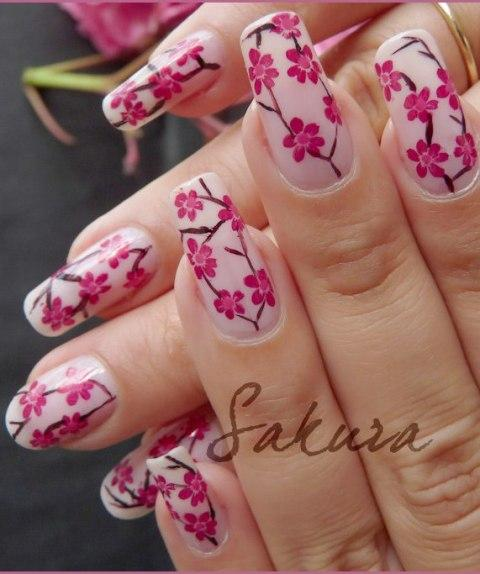 Hand nail art designs 2012