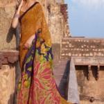 wedding saree or bridal saree 2013 by Laxmipati