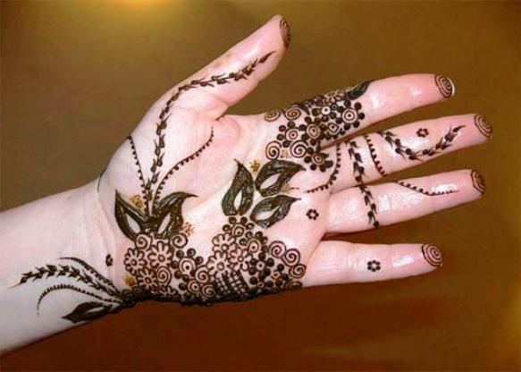 New Arabic Hand Mehndi Design for Pakistani & Indian Girls