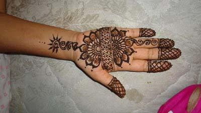 Latest Mehndi Designs For Brides 2013