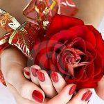 Valentine's Day Manicure Nail Art (PHOTOS) |