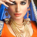 Zara Salon Creative Bridal Makeup 2013 by Rizwana Khan