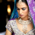 Nice Creative Bridal Makeup by Rizwana Khan