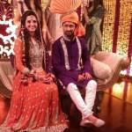 Atif Aslam and Sara Bharwana Mehndi's Coverage Photos