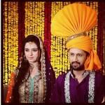 Atif Aslam and Sara Bharwana Mehndi Photo (1)