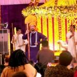 Mehndi Pictures of Atif Aslam and Sara Bharwana 's Wedding - Photo Video 001