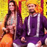 Mehndi Pictures of Atif Aslam and Sara Bharwana 's Wedding - Photo Video 002