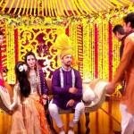 Mehndi Pictures of Atif Aslam and Sara Bharwana 's Wedding - Photo Video 004