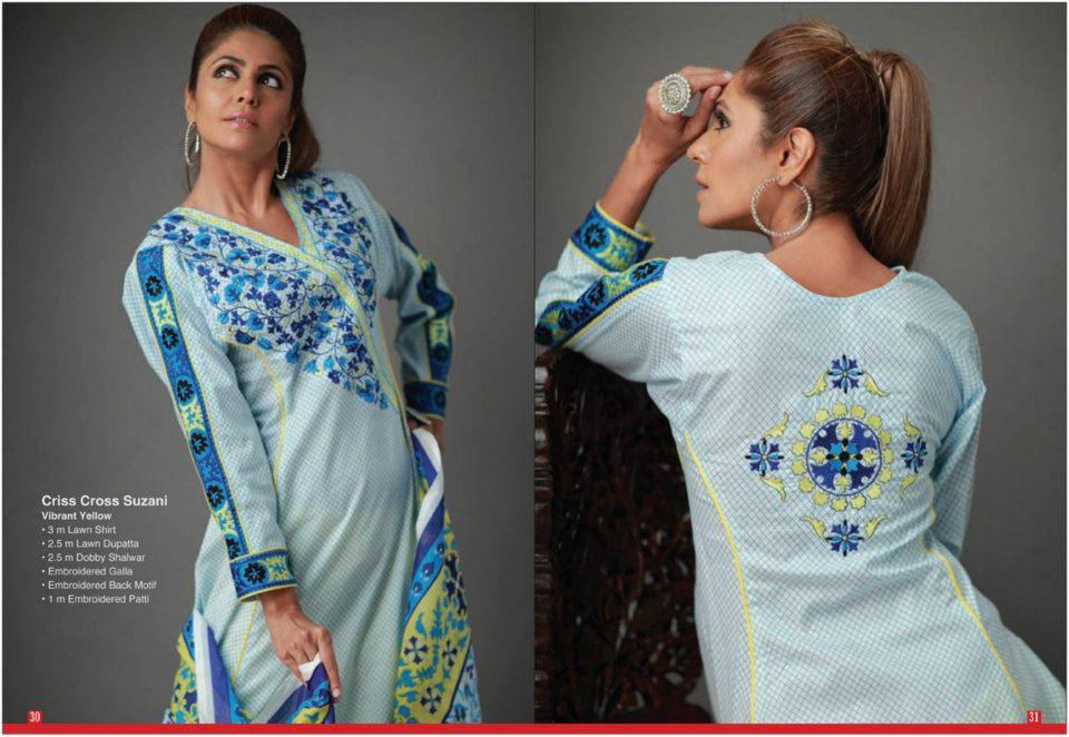 Threadline By Orient Textiles Latest Summer Lawn Design For Ladies (2)