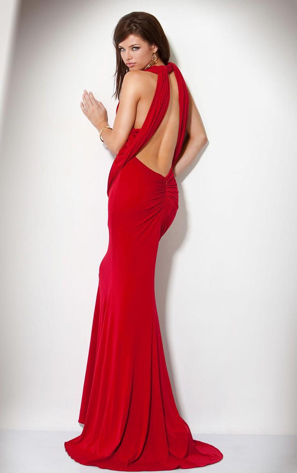 Backless Dress UK