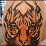 Latest 3D Tiger Tattoos Body Designs 2013-14 for Men 07