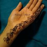 Madeeha's Latest Hand Mehndi Designs 2013 For Eid 00204