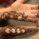 New Stylish Eid Hadn Mehndi Designs 2013 For Girls 12