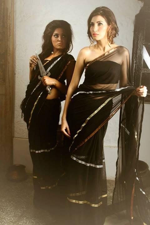 Aarasteh by Faryal Latest Saree Fashion 2013 For Girls 03
