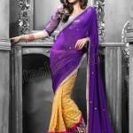 Fashionable Sarees Eid Catalog 2013-2014 by Natasha Couture 4501