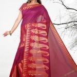 Avalon Chellame White Silk Sarees 2014 VOL 3 For Women