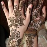 mehndi design arabic tattoos For Women