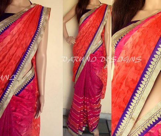 Varuni Gopen Collection New Arrival Kota Work saree 2014 For Women (2)