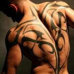 tribal lotus flower tattoo adn Angel