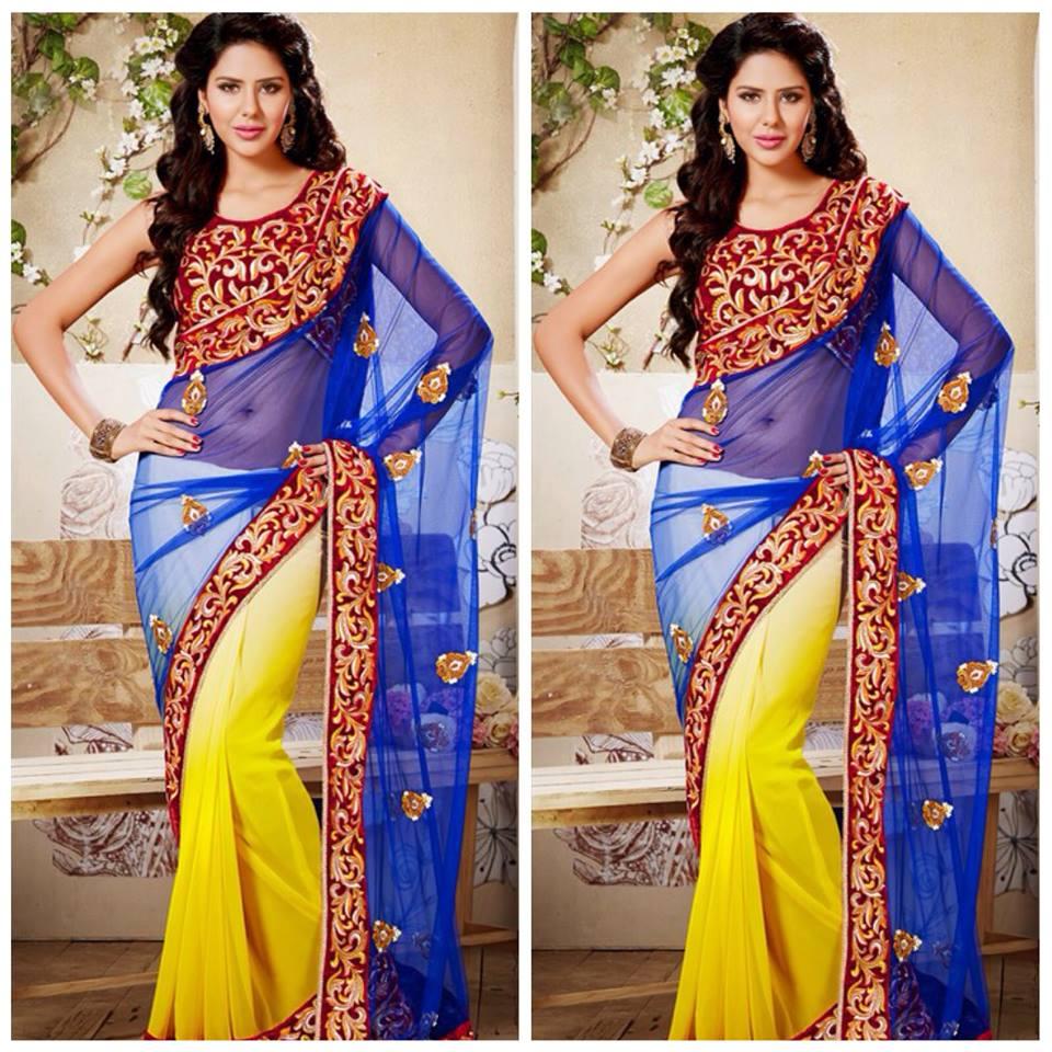New Purple Saree for Women