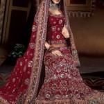 pakistani wedding dresses 2014