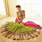 Natasha Couture Beautifull Lehenga Sarees Collection 2014 for Bridals (1)
