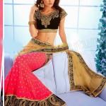 Natasha Couture Beautifull Lehenga Sarees Collection 2014 for Bridals (2)
