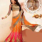 Natasha Couture Beautifull Lehenga Sarees Collection 2014 for Bridals (3)