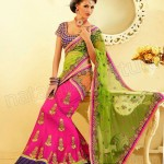 Natasha Couture Beautifull Lehenga Sarees Collection 2014 for Bridals (5)