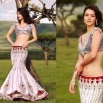 latest lehenga Blouse Saree Fashion 2014 for Indian Women (2)