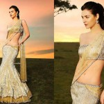 Full Length lehenga Blouse Saree Fashion 2014 for Indian Women (4)