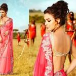 Most Beautiful lehenga Blouse Saree Fashion 2014 for Indian Women (10)