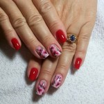 Mix fashion ofo new nail art designs