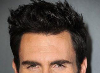Latest Hair fashio of Adam Levine