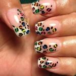 New small dots nail art ideas