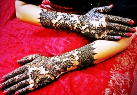 New mehandi designs rajasthani